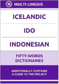Icelandic' Ido' Indonesian Fifty-Words Dictionaries photo №1