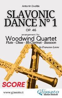Slavonic Dance no.1 - Woodwind Quartet (Score) photo №1