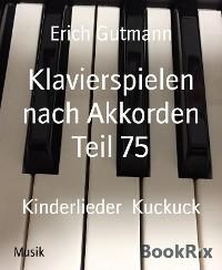 Klavierspielen nach Akkorden Teil 75