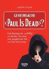 """Geheimsache """"Paul Is Dead""""? Foto №1"""