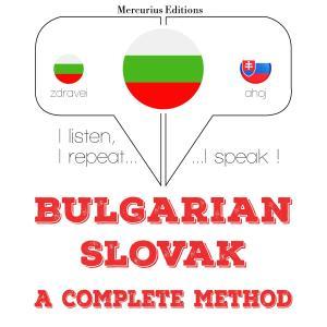 I am learning Slovak