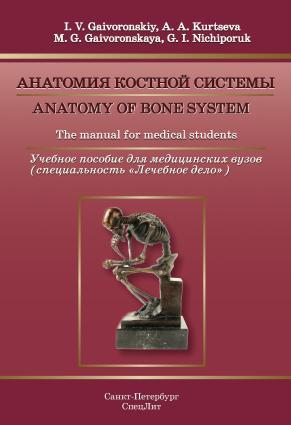 Anatomy of bone system. The manual for medical students / Анатомия костной системы. Учебное пособие для медицинских вузов Foto №1