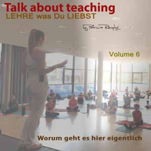 Talk about Teaching, Vol. 6 Foto №1