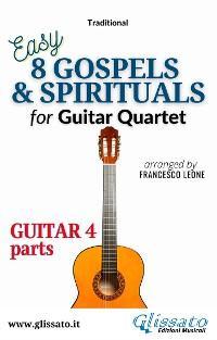 """Guitar 4 part of """"8 Gospels & Spirituals"""" for Guitar quartet photo №1"""