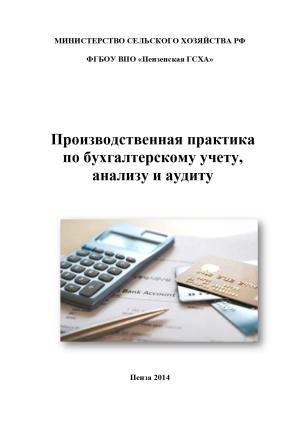 Производственная практика по бухгалтерскому учету, анализу и аудиту photo №1