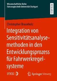 Integration von Sensitivitätsanalysemethoden in den Entwicklungsprozess für Fahrwerkregelsysteme Foto №1