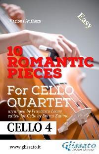 10 Romantic Pieces - Cello Quartet (CELLO 4) photo №1