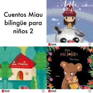Cuentos Miau bilingüe para niños 2