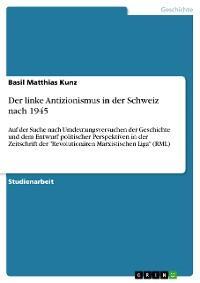 Der linke Antizionismus in der Schweiz nach 1945 Foto №1