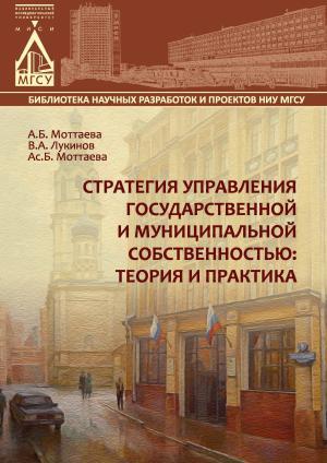 Стратегия управления государственной и муниципальной собственностью: теория и практика photo №1