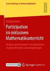 Partizipation im inklusiven Mathematikunterricht