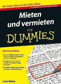 Mieten und Vermieten für Dummies Foto №1