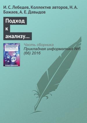 Подход к анализу состояния информационной безопасности беспроводной сети Foto №1
