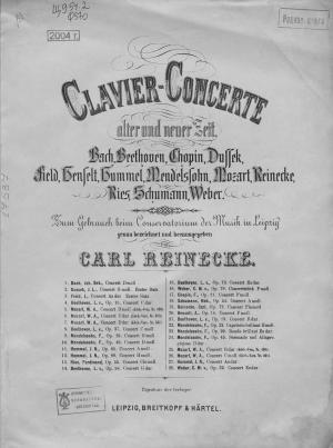Konzert (№ 2, erster Satz) Foto №1