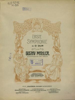 Erste symphonie in D-dur Foto №1