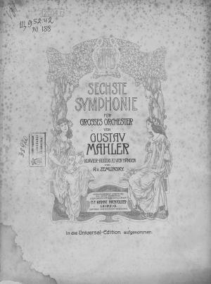 Sechste symphonie fur grosses orchester Foto №1
