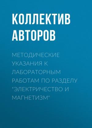 Методические указания к лабораторным работам по разделу «Электричество и магнетизм» Foto №1
