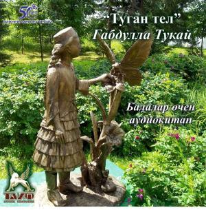 Туган тел (детские стихи на татарском языке) Foto №1