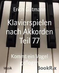 Klavierspielen nach Akkorden Teil 77