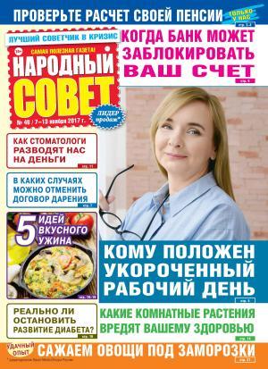 Народный совет №46/2017 Foto №1