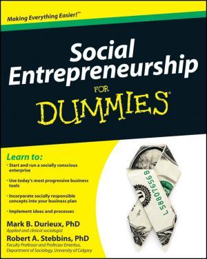 Social Entrepreneurship For Dummies photo №1