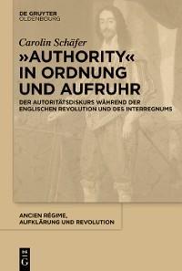 """""""Authority"""" in Ordnung und Aufruhr Foto №1"""