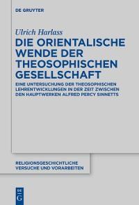Die orientalische Wende der Theosophischen Gesellschaft Foto №1