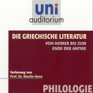 Die griechische Literatur. Von Homer bis zum Ende der Antike Foto №1