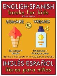 13 - Summer (Verano) - English Spanish Books for Kids (Inglés Español Libros para Niños) photo №1
