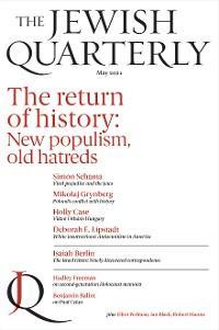 Jewish Quarterly 244 The Return of History photo №1