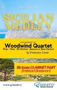 Sicilian Medley - Woodwind Quartet (Bb Bass Clarinet part) photo №1