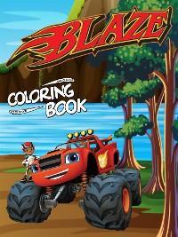 Blaze Coloring Book photo №1