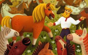 Конь Foto №1