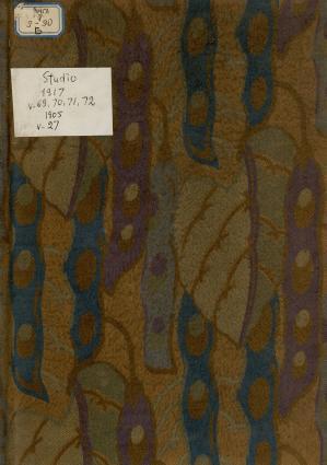 The Studio: An Illustrated Magazine of Fine and Applied Art : vol. 69-72, 1917; vol. 27, 1905 = Студия: иллюстрированный журнал изобразительного и прикладного искусства: 1905, № 27; 1917 № 69-72 photo №1