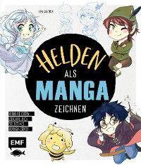 Helden als Manga zeichnen Foto №1