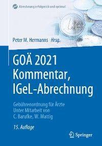 GOÄ 2021 Kommentar, IGeL-Abrechnung Foto №1