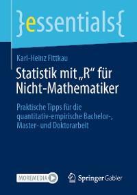 """Statistik mit """"R"""" für Nicht-Mathematiker Foto №1"""
