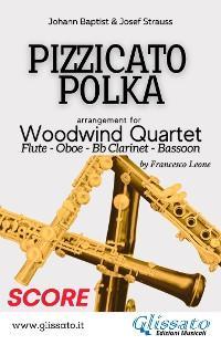 Pizzicato Polka - Woodwind Quartet (score) photo №1