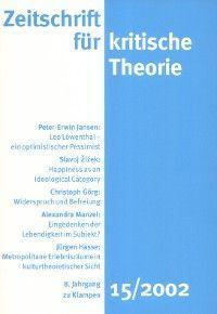 Zeitschrift für kritische Theorie / Zeitschrift für kritische Theorie, Heft 15