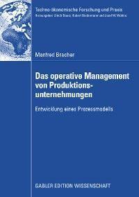 Das operative Management von Produktionsunternehmungen Foto №1