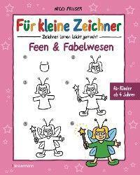 Für kleine Zeichner - Feen und Fabelwesen Foto №1