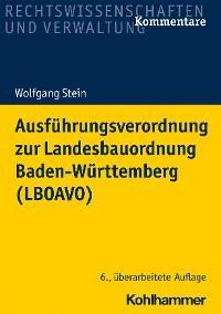 Ausführungsverordnung zur Landesbauordnung Baden-Württemberg (LBOAVO) Foto №1