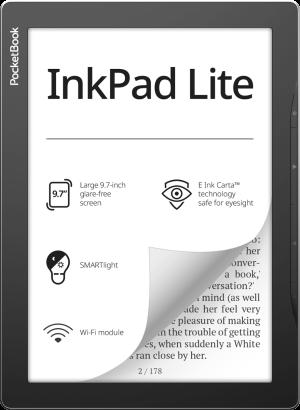 PocketBook InkPad Lite Mist Grey Foto №1