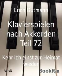 Klavierspielen nach Akkorden Teil 72