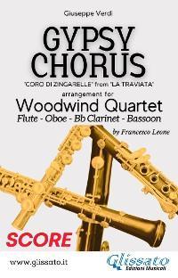 Gypsy Chorus - Woodwind Quartet (score) photo №1