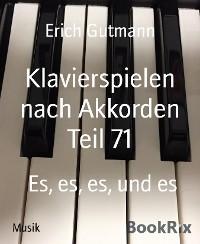 Klavierspielen nach Akkorden Teil 71
