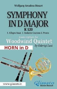 (Horn in D) Symphony K 120 - Woodwind Quintet photo №1