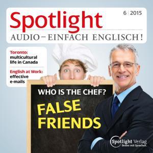 Englisch lernen Audio - Falsche Freunde