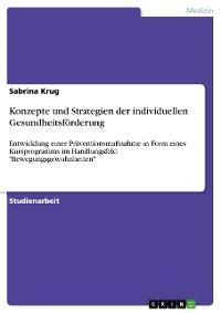 Konzepte und Strategien der individuellen Gesundheitsförderung Foto №1