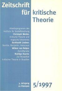 Zeitschrift für kritische Theorie / Zeitschrift für kritische Theorie, Heft 5